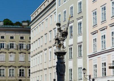 Sbg - Salzburg - Florianibrunnen am alten Markt