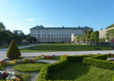 Sbg - Salzburg - Garten vom Schloss Mirabell 2