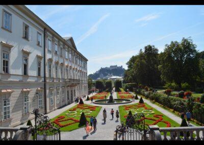 Sbg - Salzburg - Garten vom Schloss Mirabell 3