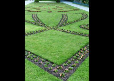 Sbg - Salzburg - Garten vom Schloss Mirabell 5