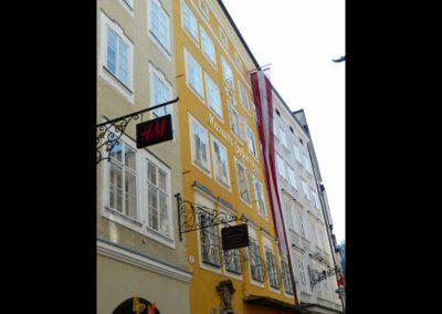 Sbg - Salzburg - Geburtshaus von Wolfgang Amadeus Mozart 2