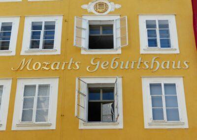 Sbg - Salzburg - Geburtshaus von Wolfgang Amadeus Mozart 3