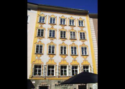 Sbg - Salzburg - Geburtshaus von Wolfgang Amadeus Mozart
