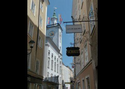 Sbg - Salzburg - Getreidegasse 3