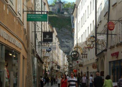 Sbg - Salzburg - Getreidegasse
