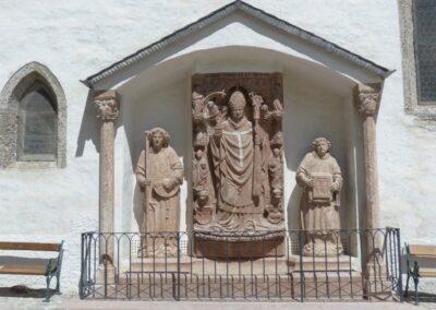 Sbg - Salzburg - Kapelle im Burghof der Festung Hohensalzburg