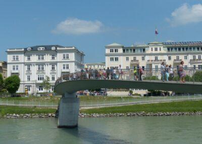 Sbg - Salzburg - Makartsteg (Liebesbrücke) 2