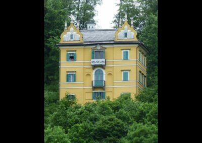 Sbg - Salzburg - Monatsschlössl in Hellbrunn
