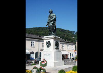 Sbg - Salzburg - Mozartstatue