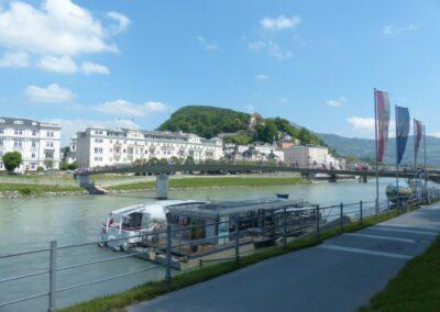 Sbg - Salzburg - Neustadt am rechten Salzachufer