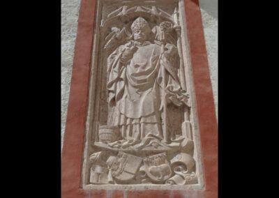 Sbg - Salzburg - Relief an der Georgskirche (Festung Hohensalzburg)