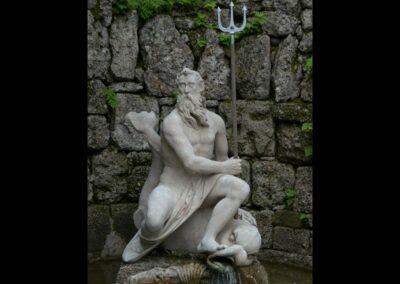 Sbg - Salzburg - Schloss Hellbrunn, Neptun- oder Regengrotte 2