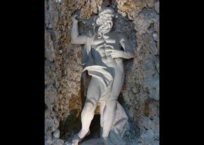 Sbg - Salzburg - Schloss Hellbrunn, Neptun- oder Regengrotte 3
