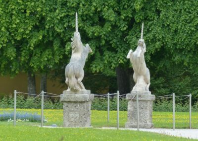 Sbg - Salzburg - Schloss Hellbrunn, Parkanlage