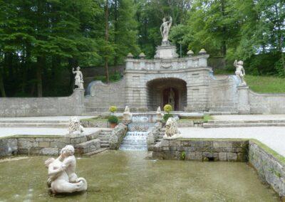 Sbg - Salzburg - Schloss Hellbrunn, Wasserspiele