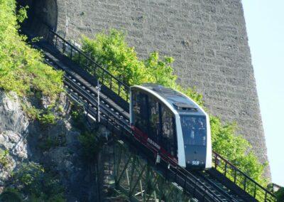 Sbg - Salzburg - Standseilbahn zur Festung Hohensalzburg