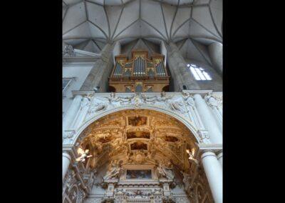 Sbg - Salzburg - Sternrippengewölbe in der Franziskanerkirche