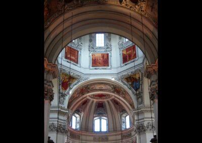 Sbg - Salzburg - Stukaturen im Salzburger Dom