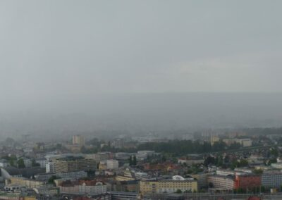 Sbg - Salzburg - Unwetter über der Stadt