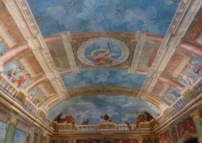 Sbg - Salzburg - blauer Saal im Schloss Hellbrunn