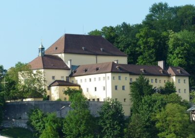 Sbg - Salzburg - das Kapuzinerkloster auf dem Kapuzinerberg 2