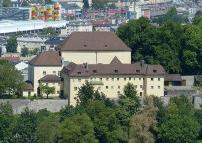 Sbg - Salzburg - das Kapuzinerkloster auf dem Kapuzinerberg