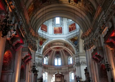 Sbg - Salzburg - der Dom von innen