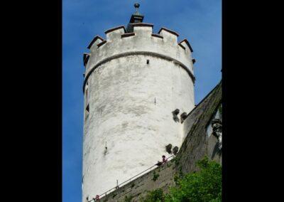 Sbg - Salzburg - ein Wehrturm der Festung Hohensalzburg