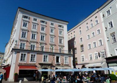 Sbg - Salzburg - früher Marktplatz in der Altstadt