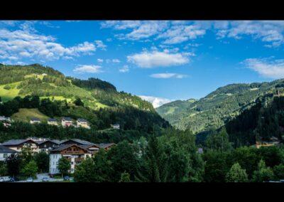 Sbg - St. Johann im Pongau - Blick in die Landschaft