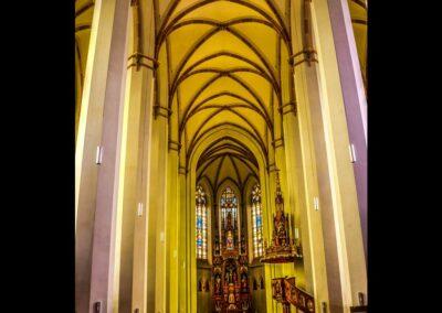 Sbg - St. Johann im Pongau - Pfarrkirche St. Johannes Innenansicht