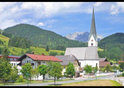 Sbg - St. Martin am Tennengebirge - Pfarrkirche Hl. Martin