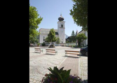 Sbg - Strobl - katholische Pfarrkirche Hl. Sigismund