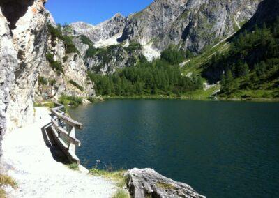Sbg - Tappenkarsee - größerer Gebirgssee in Salzburg