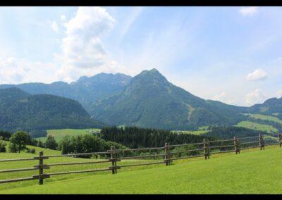 Sbg - Weideland in der Salzburger Berglandschaft
