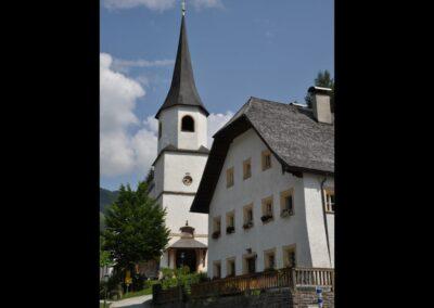 Sbg - Werfenweng - Pfarr- und Wallfahrtskirche