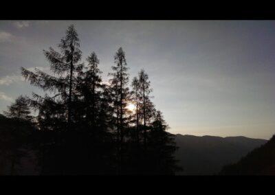 Stmk - Abendämmerung über der Landschaft