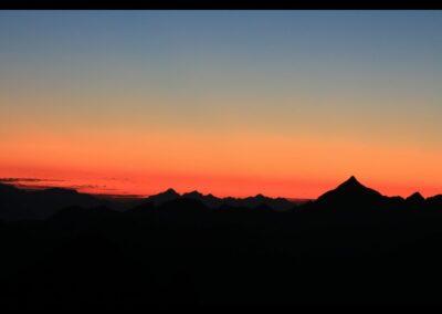 Stmk - Abendhimmel in den Schladminger Tauern
