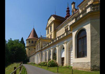 Stmk - Bad Schwanberg - Schloss Hollenegg