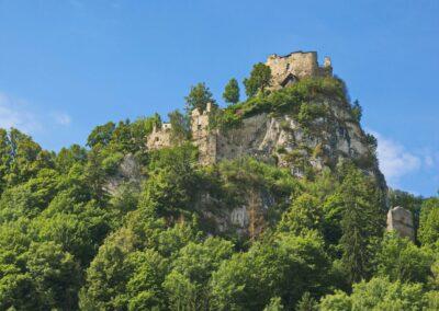 Stmk - Eppenstein - mittelalterliche Burgruine