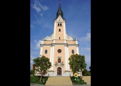 Stmk - Gleisdorf - Stadtpfarrkirche Hl. Laurentius