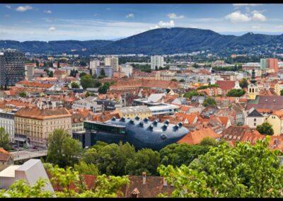 Stmk - Graz - Stadtpanorama