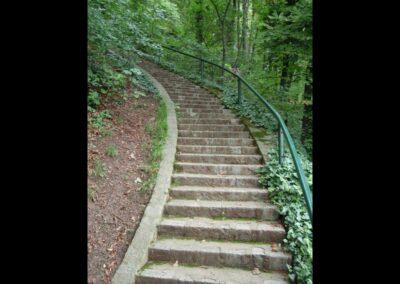 Stmk - Graz - Treppe zum Grazer Schlossberg