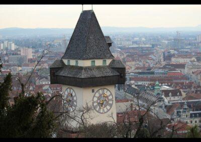 Stmk - Graz - Uhrturm 2