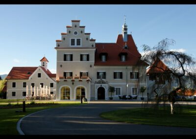 Stmk - Großlobming - Schloss Großlobming