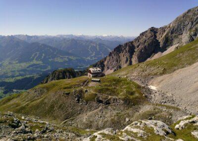 Stmk - Guttenberghaus im Dachsteingebirge