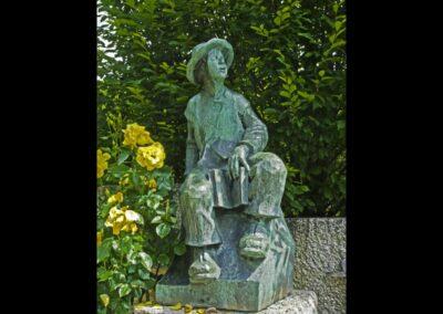 Stmk - Krieglach - Denkmal von Peter Rosegger