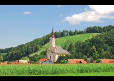 Stmk - Leutschach - Katholische Pfarrkirche Hl. Nikolaus