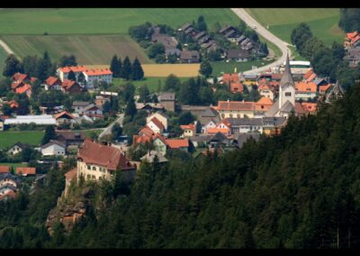 Stmk - Oberwölz Stadt - die kleinste Stadt der Steiermark