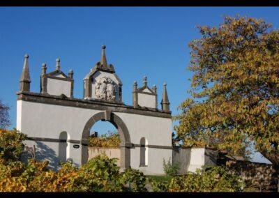 Stmk - Riegersburg - Pyramidentor der Burg